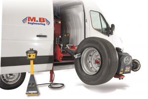 M&B Engineering mobiilne rehvivahetaja + tasakaalustaja  -  DIDO Service Mobile